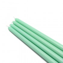 "12"" Aqua Taper Candles (1 Dozen)"
