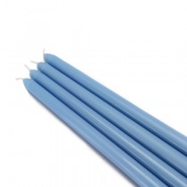 "12"" Light Blue Taper Candles (1 Dozen)"