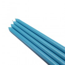 "12"" Turquoise Taper Candles (1 Dozen)"