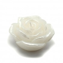 "3"" White Rose Floating Candles (12pc/Box)"