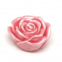 3 Inch Pink Rose Floating Candles (12pc/Box)