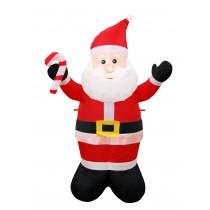 6FT White Santa Inflatable