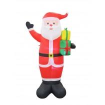 8FT White Santa Inflatable