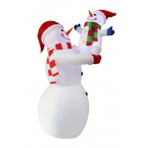 8FT  Inflatable Snowman