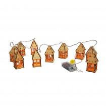 Christmas House String Lights (Set of 10)