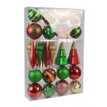 27Pk Christmas Ornament-Mix Color