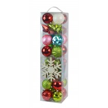 Tinsel Town 40Pk Asst Styles-Mix Color