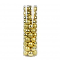 Combo 55Pc Christmas Ornament-Gold