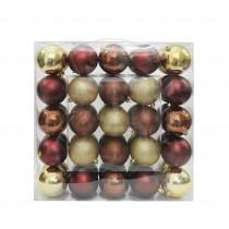 """Combo 50Pk 3""""  Shiny Glitter Square-Mix color Christmas Ornament"""