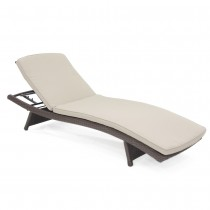Tan Chaise Lounger Cushion (Set of 2)