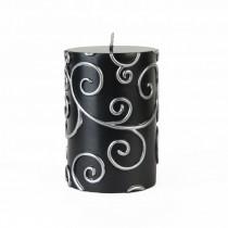 "3 x 4"" Scroll Pillar Candle"