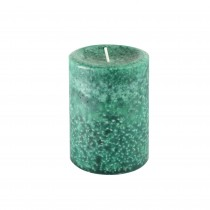 "3"" x 4"" Fresh Frasier Fir Green Scented Pillar Candle"