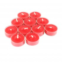 12pk Cinnamon Cide Red TeaLight Candles