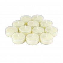 12pk Vanilla Scented White TeaLight Candles
