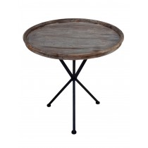 "21""H Round side table"