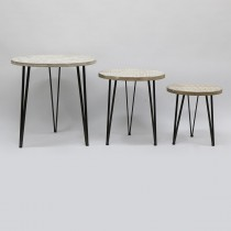METAL AND WOOD TABLES