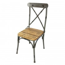 Old-Style X-back Small Chair (Set of 2)