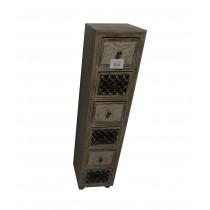 """45"""" Wooden Cabinet With 6 Drawer"""