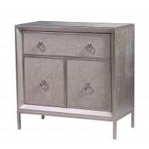 wooden 1 drawer 2 door cabinet
