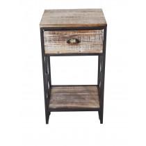Wood/Metal cabinet