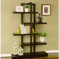 4 Tiers Kross Bookcase - Brown