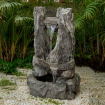 Wood Water Fall Water Fountain