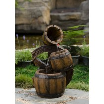 3 Tiers Urns Fountain with Led Light
