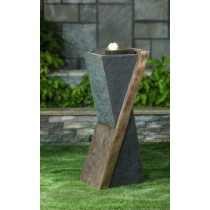 Contemporary Fountain with LED Light
