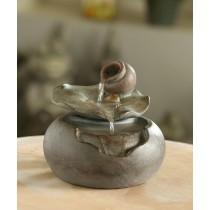 Lotus Leaf Tabletop Water Fountain
