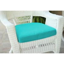 Turquoise Single Chair Cushion