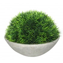 Artificial Topiary Half Ball Bowl