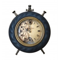 Navy Blue Table Clock