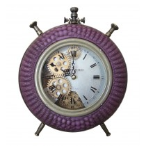 Purple Table Clock