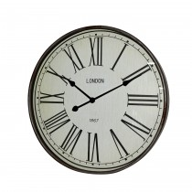 "24"" Metal Round Wall Clock"