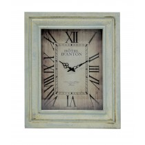 "22.75"" x 27.5"" Rectangular Wall Clock"