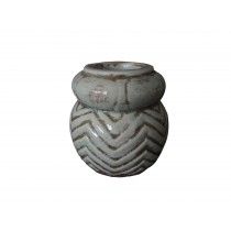 "Themis 4"" Terracota Candle Holder"