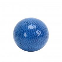 """4.7"""" Decorative Ceramic Spheres Blue"""