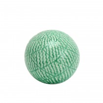 "4.7"" Decorative Ceramic Spheres Green"