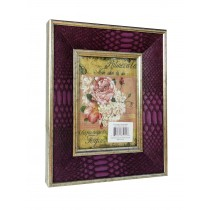 "5"" x 7"" Purple Patterned Photo Frame"