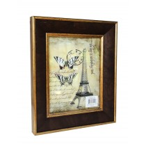 "8"" x 10"" Dark Brown Photo Frame"