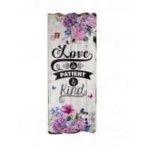 Love is Patient Plaque