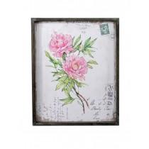 Asian Roses Plaque