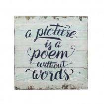 Poem Plaque