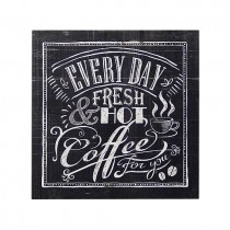 Coffee Every Day Plaque
