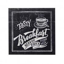 Tasty Breakfast Plaque