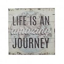 Journey Plaque
