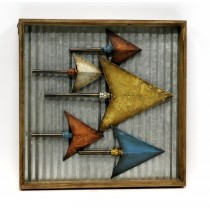Tail Feathers Metal Wall Art