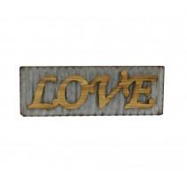 Love Wood Haning Plaque