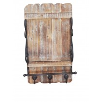 Wall Shelf with Coat Hook