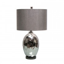 "25.5""H Ceramic Table Lamp with Metal Base"